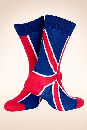 Cotton Rich Union Jack Socks