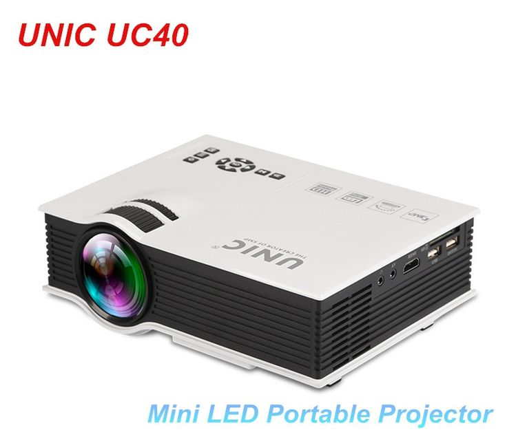 (72.67$)  Buy here - http://aioop.worlditems.win/all/product.php?id=32605779208 - UNIC UC40 Mini Pico portable 3D Projector HDMI Home Theater beamer multimedia proyector Supports Full HD 1080P Video USB AV HDMI