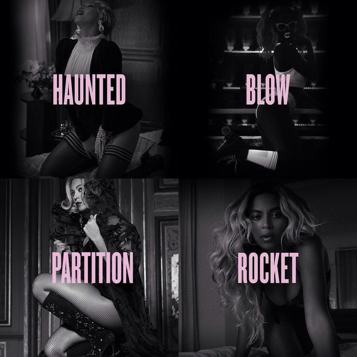 Beyonce - Music Videos Collage