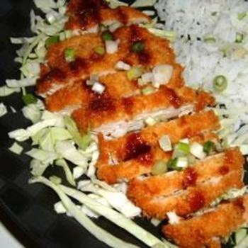 Ashleys Chicken Katsu with Tonkatsu Sauce