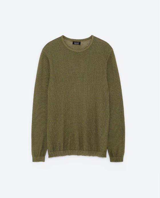 SWEATER MED TEKSTUR fra Zara, 179 kr