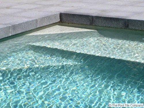 Dark Grey Granite Pool Pavers and Coping