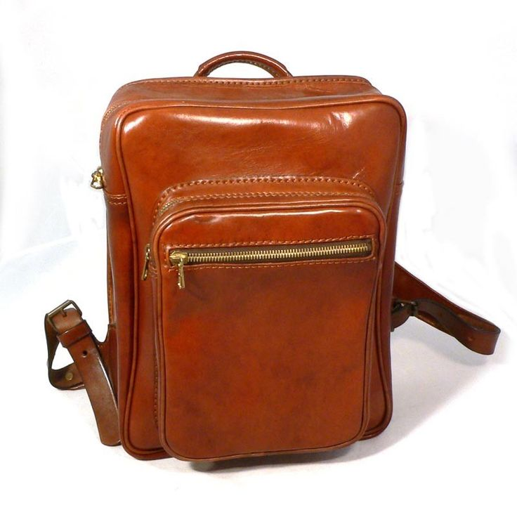 Carota® - Borsa Zaino in Cuoio - Backpack