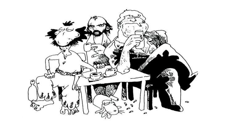 Con el gaucho Inodoro Pereyra el renegau (y su fiel perro Mendieta) y con Boogie el aceitoso, impiadoso matón y asesino a sueldo.