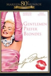 Recension av Gentlemen prefer blondes med Marilyn Monroe och Jane Russell.