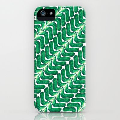 not so good looking cucumber iPhone & iPod Case by Mimi - $35.00