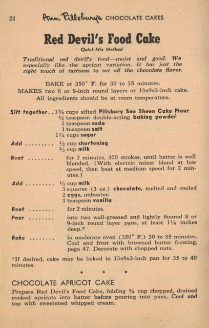 Difference Between Chocolate Fudge Cake And Devils Food Cake