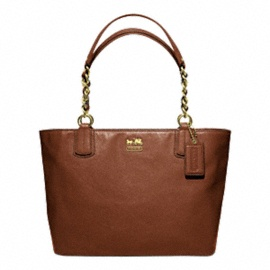 New Madison Leather Tote - Possible new work bag: Coach Diapers, Coach Handbags, Totes Coach, Coach Madison