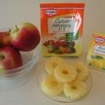 Dżem jabłkowo-ananasowy 001
