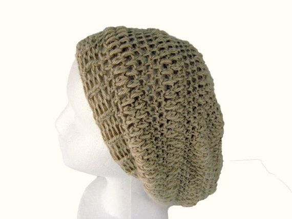 Slouchy Beanie Beige Hat is a Crochet Slouchy Hat that is super soft made of…