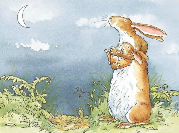 I Love You Right Up To The Moon Aj9302 In 2020 Anita Jeram