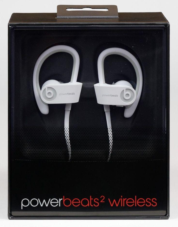 http://www.bonanza.com/listings/Beats-by-Dr-Dre-wireless-Powerbeats2-Bluetooth-IN-EAR-white-Headphones/383966724