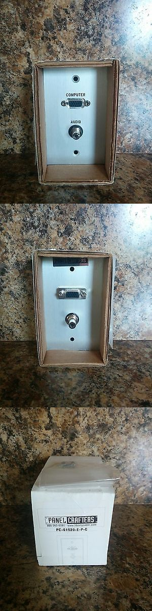 Other Home Automation: Liberty Pc-G1520-E-P-C Sg Wall Plate Vga+3.5Mm-Hd-15 And 3.5 Mm Audio Jack Qty 30 -> BUY IT NOW ONLY: $450 on eBay!