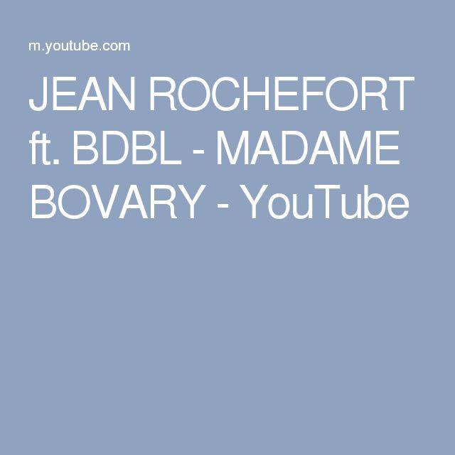 BIM BAM BOUM - JEAN ROCHEFORT & MADAME BOVARY - YouTube