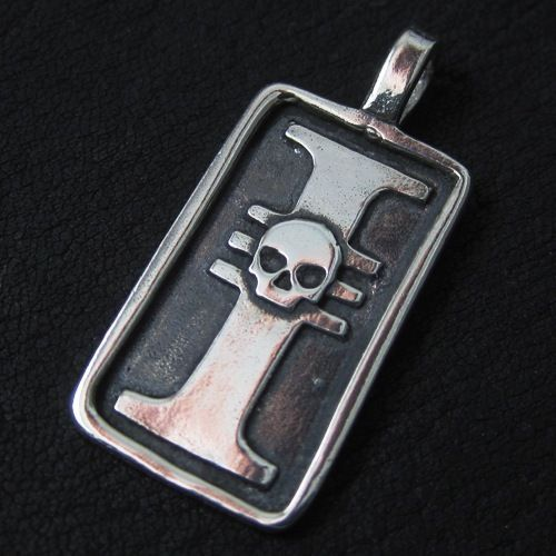 Silver Inquisition pendant. Warhammer 40000. W40K. Imperium of Mankind. #Pendant