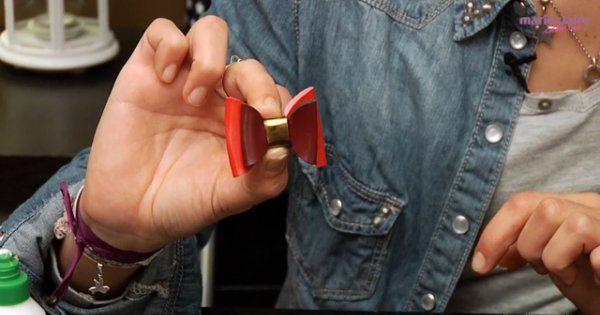 Fabriquer un bracelet noeud en simili cuir