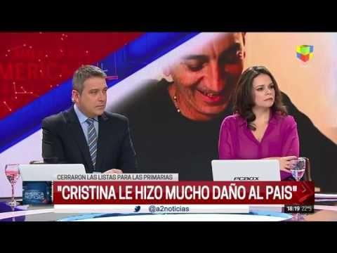"""Amalia Granata: """"Cristina debería haberse retirado y Macri me da temor"""""""