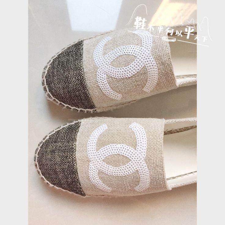 Fashion CHANEL Espadrilles sale china replica