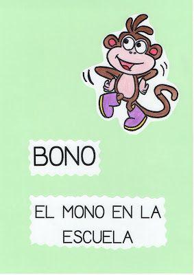 Bono, el mono en la escuela. Cuento para afianzar normas en el aula.