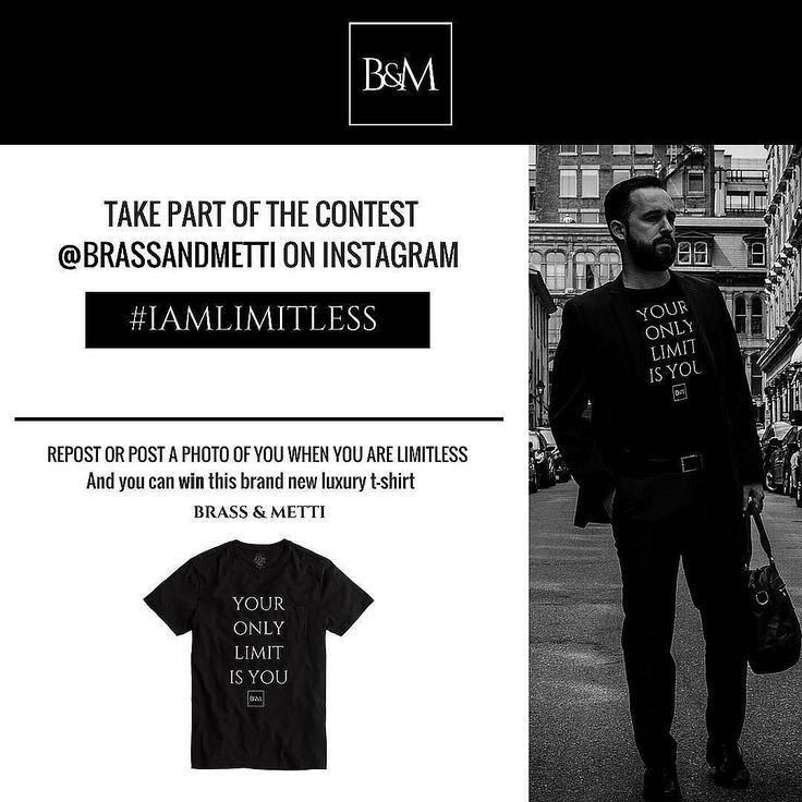 We want to make your Weekend limitless with a #giveaway with a brand new luxe t-shirt of Brass & Metti Follow us and share a photo moments when you do a limitless thing in your day tag us @brassandmetti with #iamlimitless for your chance to win this t-shirt #brassandmetti. . . . . . . . #fashionmenswear #ootdmen #fashioninspo #menswithstreetstyle #entrepreneur #nopainnogain #mensfashionposts #urbanstyle #menstylelook #fashionblogger_de  #lookoftheday #giveaway #knowledgeispower…
