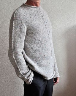 Apparently Men's sweaters look really good as slouchy, over sized sweaters on Females...We'll see about that...