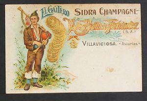 a 2608 villaviciosa el gaitero sidra champagne valle ballina fernandez