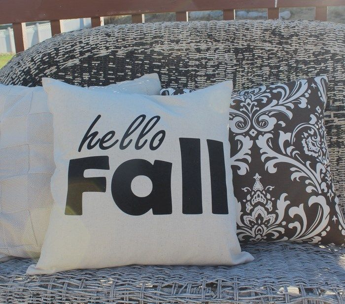 Yes! It's Fall!  Time to change over the pillow covers! We are just loving these…