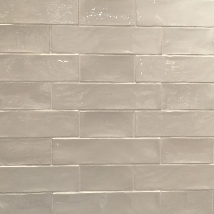 Handmade Subway Tile In Alternating 3x6 And 3x12 Pattern