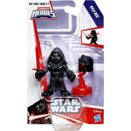 Star Wars Galactic Heroes Kylo Ren Mini Figure, Multicolor