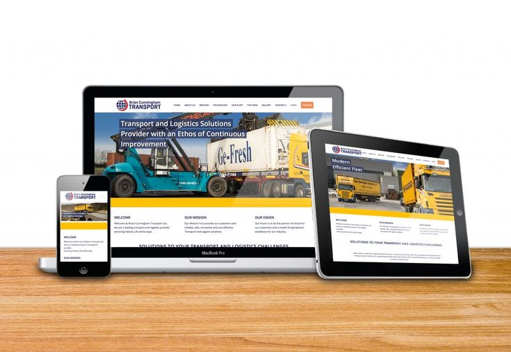 Category: Web Design & Development, Content Managed Website - Co. Mayo, Ireland. Website Type: CSS, HTML, WordPress, PHP. Client: Brian Cunningham Transport, Castlebar, Co. Mayo, Ireland. Address: www.bctransport.ie
