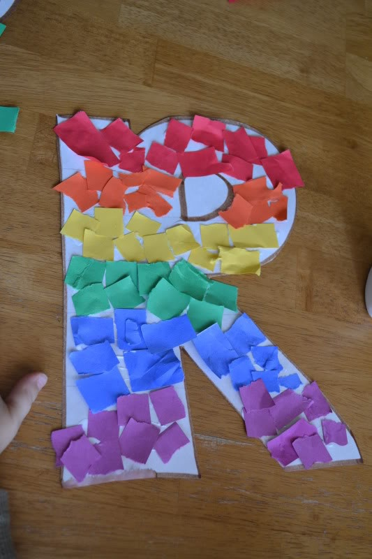R Is For Rainbow Letter R Crafts Letter A Crafts