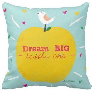 Suki McMaster Cushion Dream Big Little One available online at Summer Lane