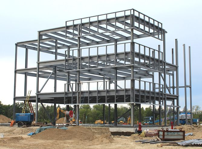 Learn more about Steel Frames. Check the structures. :) #steelframes #lightmetalframes