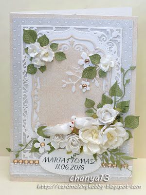 Card making blog: Gołąbki dwa.