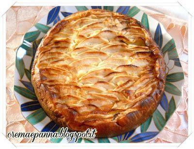 Crema e panna: Torta di mele e latte condensato