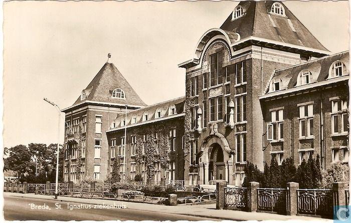 Breda - St. Ignatiusziekenhuis - 1969.