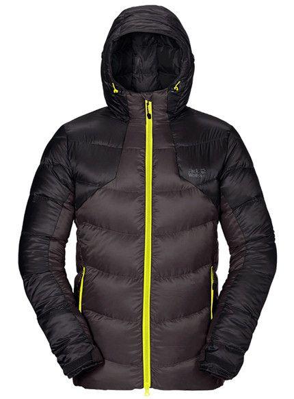 Jack Wolfskin Svalbard II Daunen Jacke Herren für € 119.57 | McTREK.de Outdoor Shop Daunenjacken
