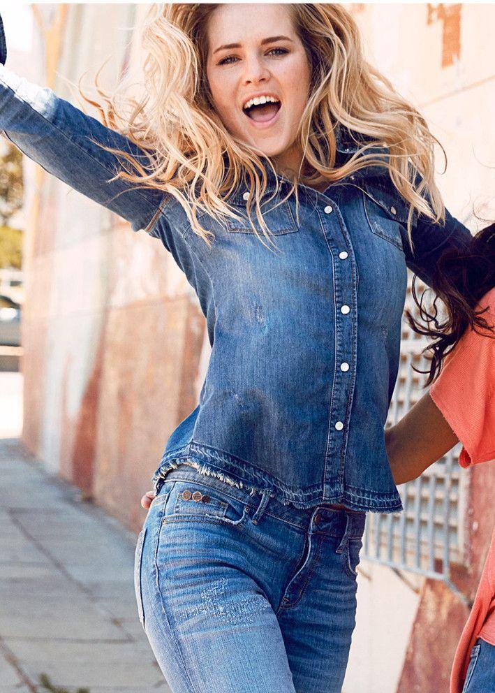 Odd Molly Skjorte - Dress Up Shirt 716M-551 mid blue – Acorns