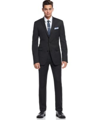 Charcoal Extra Slim Fit Suit
