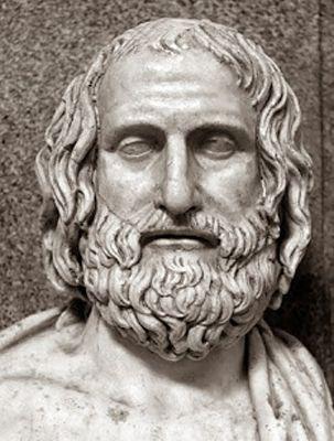 """El agnosticismo. Protágoras de Abdera. Filósofo sofista del siglo VI a. C. """"Respecto a los dioses, no tengo medios de saber si existen o no; ni cual es su forma. Me lo impiden muchas cosas: la oscuridad de la cuestión y la brevedad de la vida humana""""."""