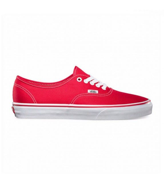 Baskets Vans authentic rouge | Chaussure, Vans authentiques ...