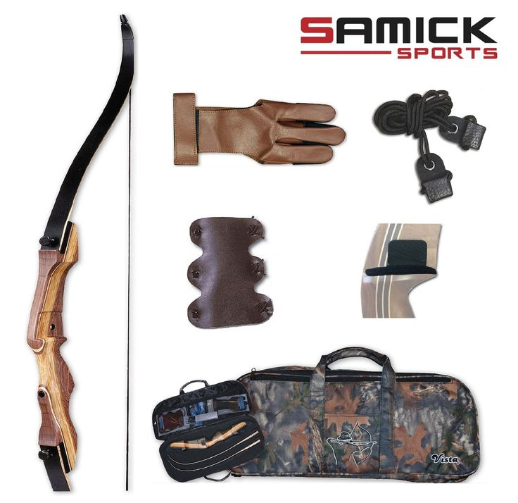 Samick Sage Takedown Recurve Bow Starter Package Get Recurve Bows at https://www.etsy.com/shop/ArcherySky