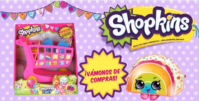 ¡Vámonos de compras con el SHOPKINS CARRITO DE MERCADO!