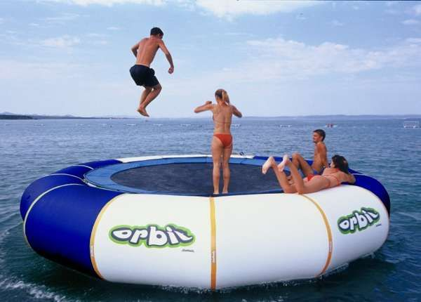 40 Playful Pool Toys - From Fashionable Necklace Floaties to Aquatic Trampolines (CLUSTER)