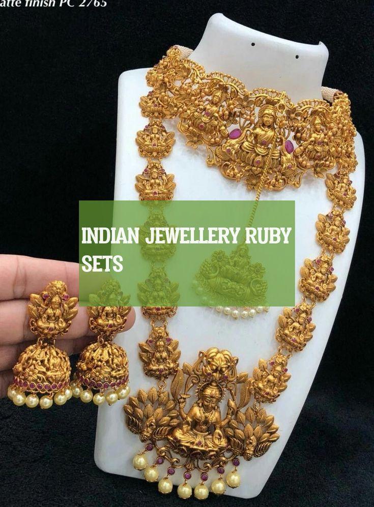 indian jewellery ruby sets | rubinsets für indischen schmuck | rubini gioielli …