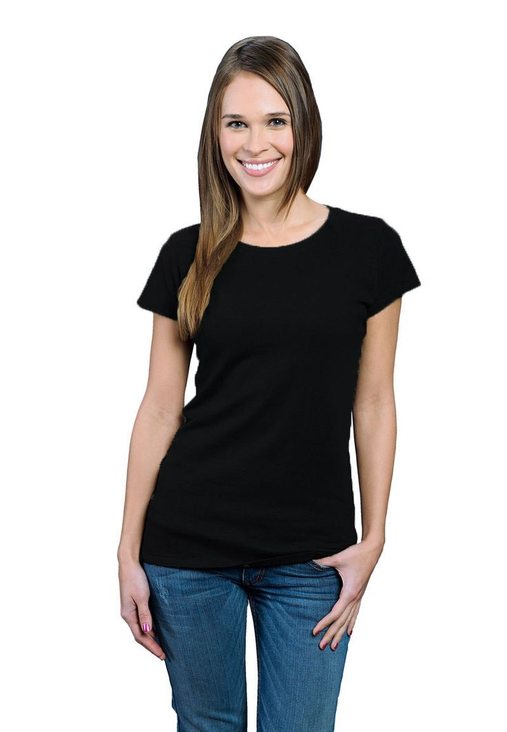 21 best women 39 s bamboo t shirts images on pinterest Womens black tee shirt