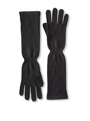 Carolina Amato Women's Featherweight Elbow Gloves (Black)
