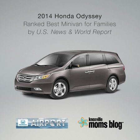 Knoxville's Airport Honda, Honda Odyssey Review | Knoxville Moms Blog