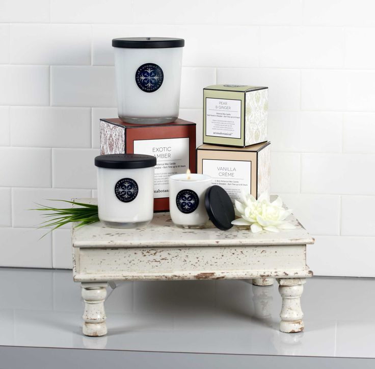 Our Aromabotanicals Scented Candles are luxury for the senses!