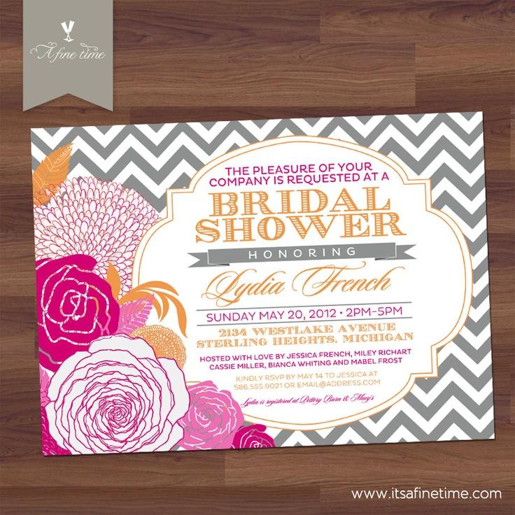 Items similar to Bridal Shower Invitation